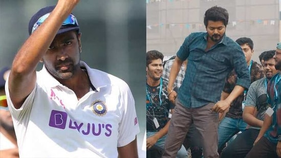 Watch R Ashwin groove to hit number Vaathi Coming from Vijays's Master - Hindustan Times