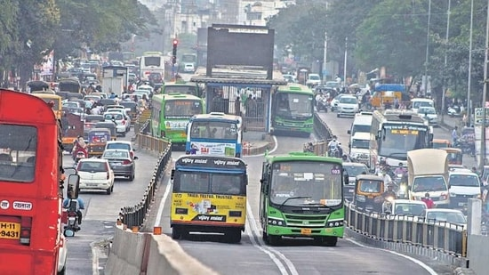 """According to the organisers, the participants will collaborate on digital innovations to create functioning solutions to predetermined challenges like """"lethal accidents in traffic, safe and sustainable transport, air pollution/emissions from the traffic sector, infrastructure for connected vehicles and sustainable logistics"""". (Representative Image) (HT FILE)"""