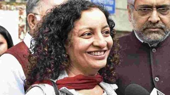 File photo of senior journalist Priya Ramani.(Sanchit Khanna/HT Photo)