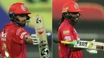 KL Rahul (L) and Chris Gayle have welcomed the name change. (IPL/Twitter)