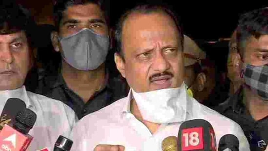 Ajit Pawar, while addressing the media after the annual general meeting of districts under Pune division, said he had visited the institute after the fire in the presence of senior officials, including the collector. (ANI Photo)