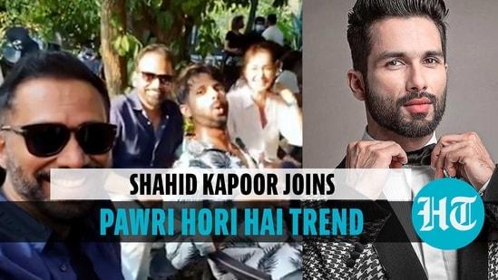Shahid Kapoor shares his hilarious version of Pawri Hori Hai video