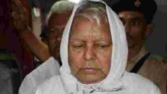 Lalu Yadav is serving a jail term in a Jharkhand jail in connection with fodder scam cases.(PTI Photo)