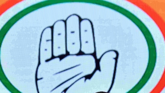 Congress party logo.(HT Archive)
