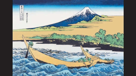 From Thirty-six Views of Mount Fuji (c. 1831)by Katsushika Hokusai (1760-1849). (Getty Images)