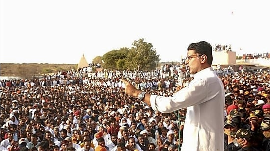 Image result for Farmers don't need sympathy, they need support: Sachin Pilot