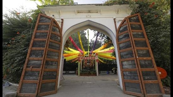 Jaipur Literature Festival used to be held at Diggi Palace, Jaipur until last year.