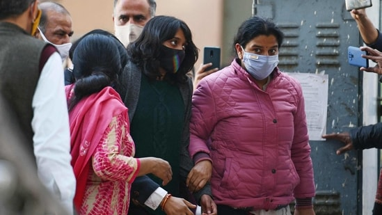 Activist Disha Ravi was sent to five-day Delhi Police special cell custody on Sunday(File Photo/AFP )