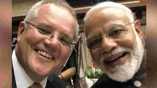Australia is mobilising support in its fight against Facebook and Morrison's recent discussion with PM Modi is proof of that.(File photo)