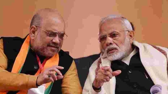"""Trinamool Congress's Lok Sabha MP Saugata Roy alleged that Modi and Shah both fall short of the secular idealism that Tagore and Bose stood for. """"They build the Ram temple and differentiate between high-caste and low-caste Hindus. They are mentally and ideologically unfit to talk about such icons,"""" Roy said.(Raj K Raj/HT Photo)"""