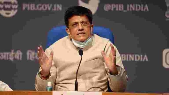 Goyal also expressed his condolences on the tragic incident that took place at Nimtita railway station.(PTI File Photo)