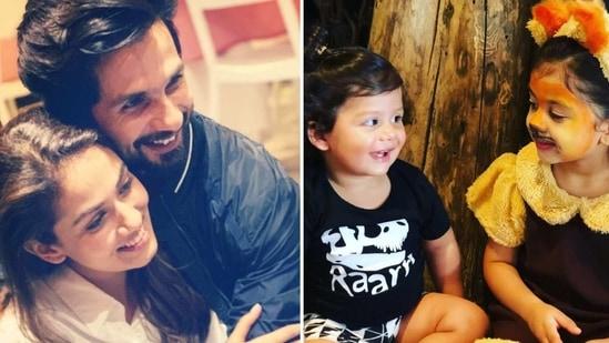 Shahid Kapoor and Mira Rajput have two children - Misha and Zain.
