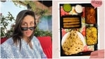 Kareena Kapoor has shared a picture of the dinner she enjoyed on Friday.