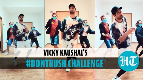 Vicky Kaushal joins 'Don't Rush' internet trend, shares his dance video