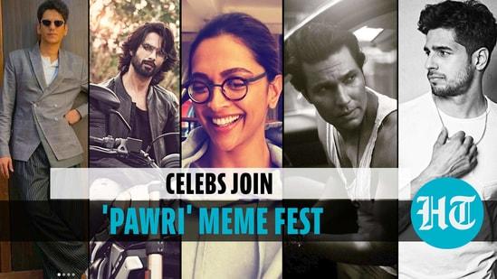 Deepika, Randeep, others join 'Pawri' trend, leave netizens in splits
