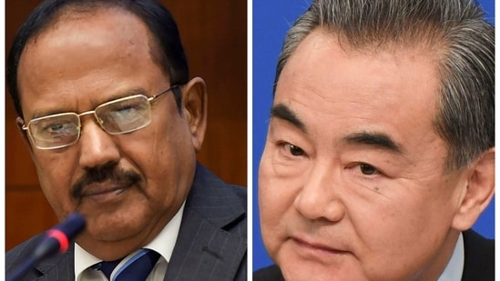 India has made it clear to China that it will respond positively to east Ladakh withdrawal but stand up to any unilateral change of status quo on LAC by force.(HT FILE/PTI/AFP)