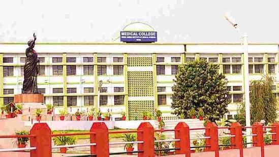 The Indira Gandhi Institute of Medical Sciences (IGIMS) in Patna.(HT File Photo)