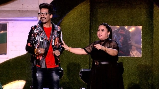 Harsh and Bharti also played a few pranks on the Bigg Boss 14 contestants(Colors)