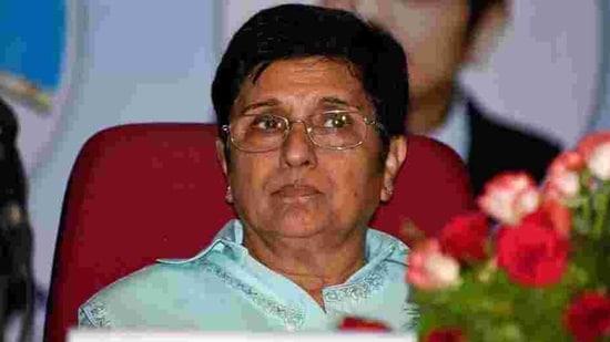 Former IPS officer Kiran Bedi.(Sanket Wankhade/ HT file photo)
