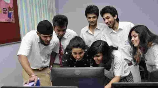 Candidates who have appeared in the Kerala DHSE first year improvement exam held in December 2020 can check their results at keralaresults.nic.in(HT file)