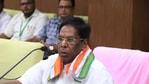 Puducherry chief minister V Narayanasamy said (File Photo/ANI)