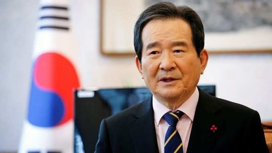 South Korea's Prime Minister Chung Sye-kyun speaks during an interview with Reuters inSeoul, South Korea.(REUTERS)