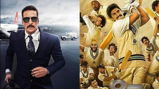 Akshay Kumar's Bell Bottom will hit the theatres on May 28, while Ranveer Singh's sports drama 83 comes on June 4