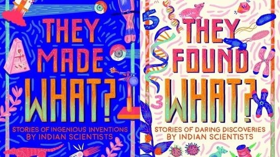"""""""When I went looking for masterminds of science in India, I found so many that I was overwhelmed... We decided upon the inventions and discoveries that twisted our toes and made us agog with wonder.(Amazon)"""