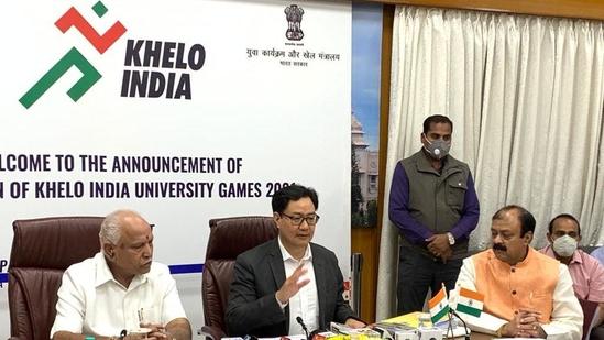 Karnataka to host Khelo India University Games 2021(Khelo India / Twitter)