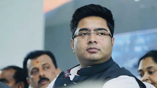 File photo: TMC MP Abhishek Banerjee, nephew of West Bengal Chief minister Mamata Banerjee.(PTI)