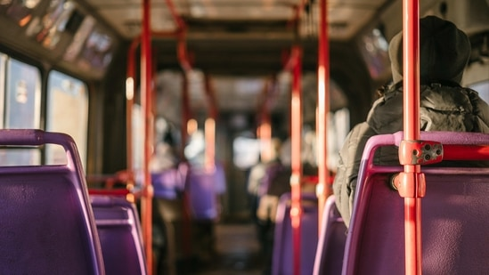 The Delhi Disaster Management Authority (DDMA) in November last year had allowed the running of DTC and cluster buses with full seating capacity.(Unsplash)