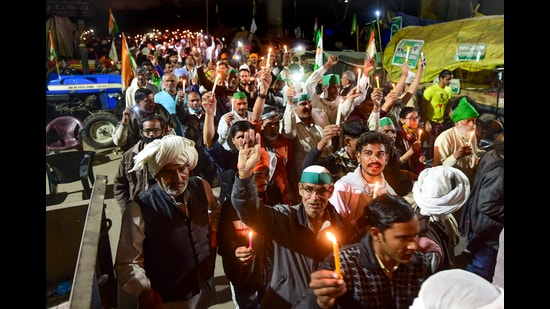 The farm agitation may not be spreading to other states but in the states where it is present, it seems to be covering more ground (PTI)