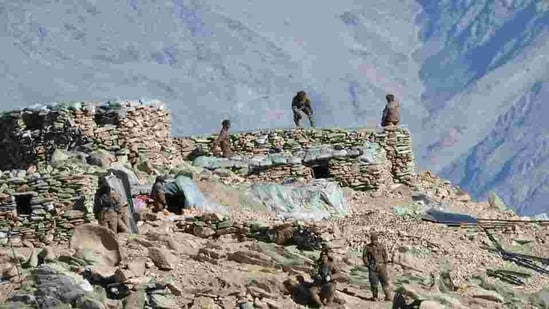 China and India are pulling back frontline troops from their mountain border where they have been in a standoff for months. (AP file)