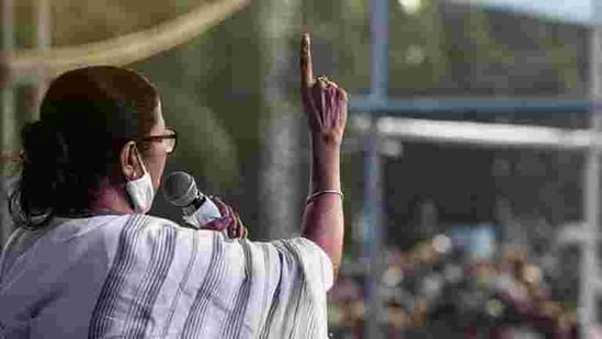 File photo: West Bengal chief minister Mamata Banerjee. (PTI)