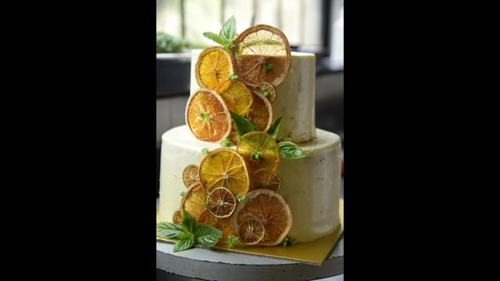 Orange and Almond cake from Caara is a moist gluten free cake made with almond flour and orange zest