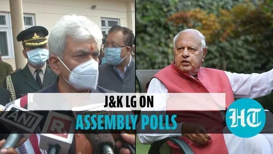 Manoj Sinha said that those who want Assembly elections soon must help in delimitation exercise (Agencies)