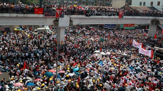 Image result for EU prepares measures against Myanmar coup leaders