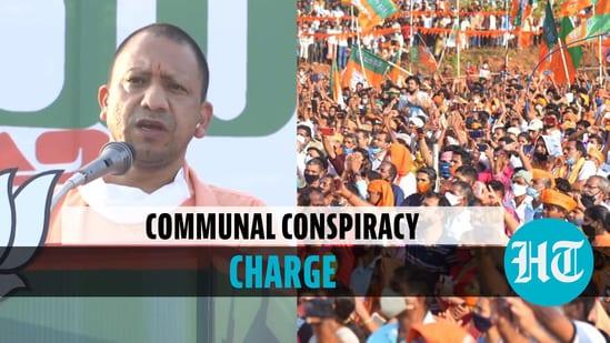 Uttar Pradesh Chief Minister Yogi Adityanath campaigned in Kerala ahead of elections