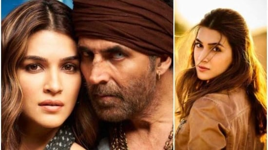 Bachchan Pandey stars Kriti Sanon and Akshay Pandey in lead roles.