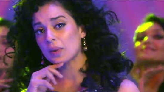 Kangana Ranaut in a still from Rajjo song Julmi Re Julmi.