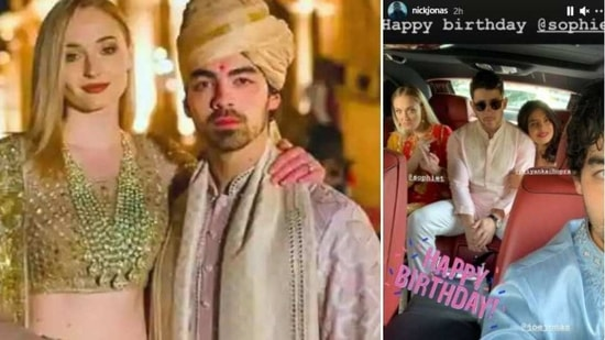 Sophie Turner got birthday wishes from her husband Joe Jonas as well.