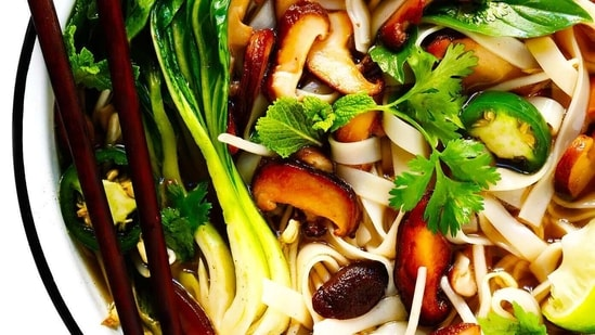 Vegan Pho(Gimme Some Oven)
