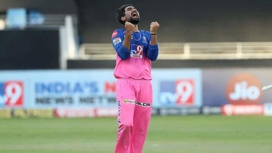 Rahul Tewatia during IPL 2020.(IPL)