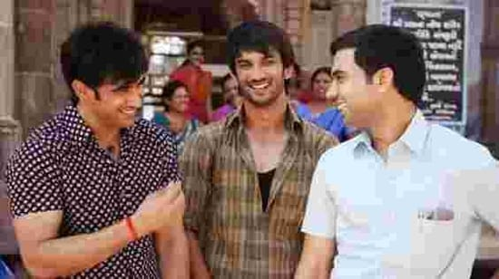 Amit Sadh, Sushant Singh Rajput and Rajkummar Rao in Kai Po Che!