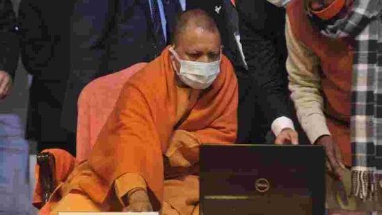 Uttar Pradesh chief minister Yogi Adityanath. (HT Photo)