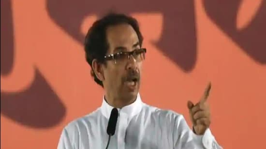 CM Uddhav Thackeray had also appealed political parties to again conduct meetings virtually. (HT File)