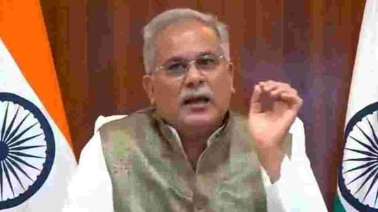 Chhattisgarh chief minister Bhupesh Baghel said In year 2020-21, minor forest produce worth nearly <span class='webrupee'>₹</span>115 crore rupees have been procured at minimum support price so far.(HT PHOTO.)