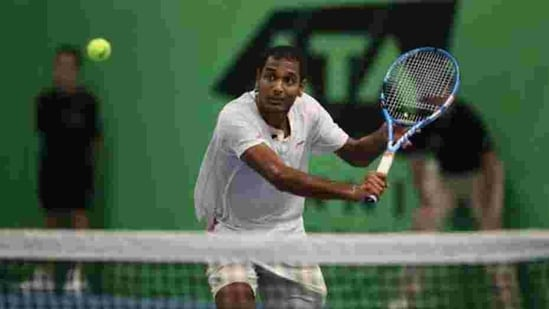 Ramkumar Ramanathan of India. File(Getty Images for LTA)