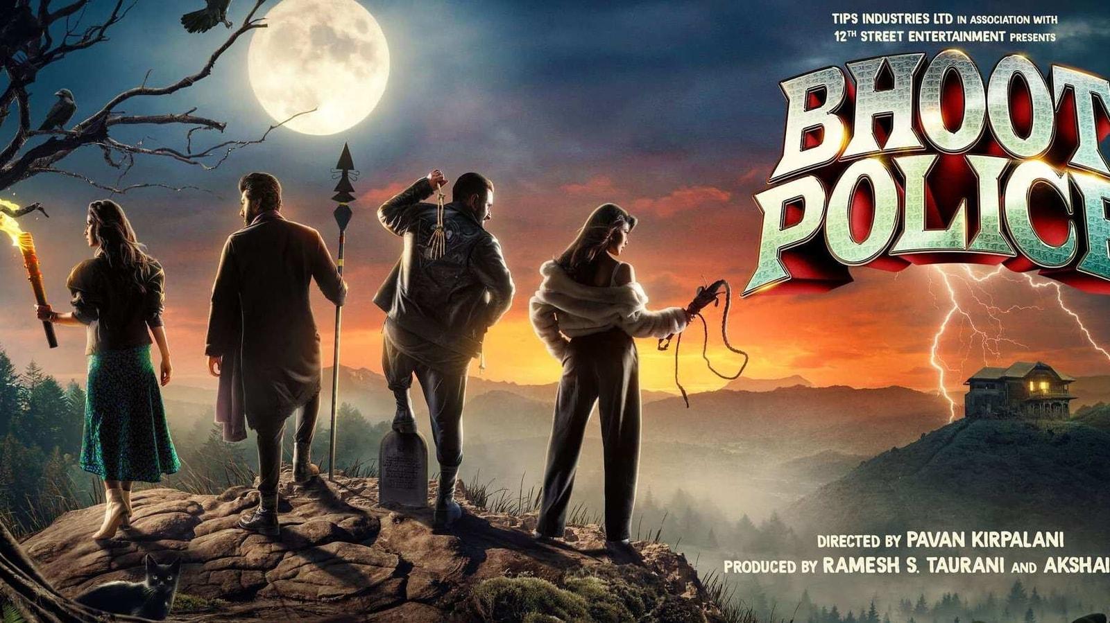Bhoot Police poster: Saif Ali Khan, Arjun Kapoor, Yami Gautam, Jacqueline  Fernandez gear up to hunt down ghosts | Hindustan Times