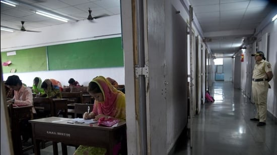 Around 1.5 million students appear for the HSC (Class 12) exam, while over 1.7 million students write their SSC exams (Class 10) from the state every year. (HT File)
